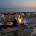 foto cena sulla spiaggia